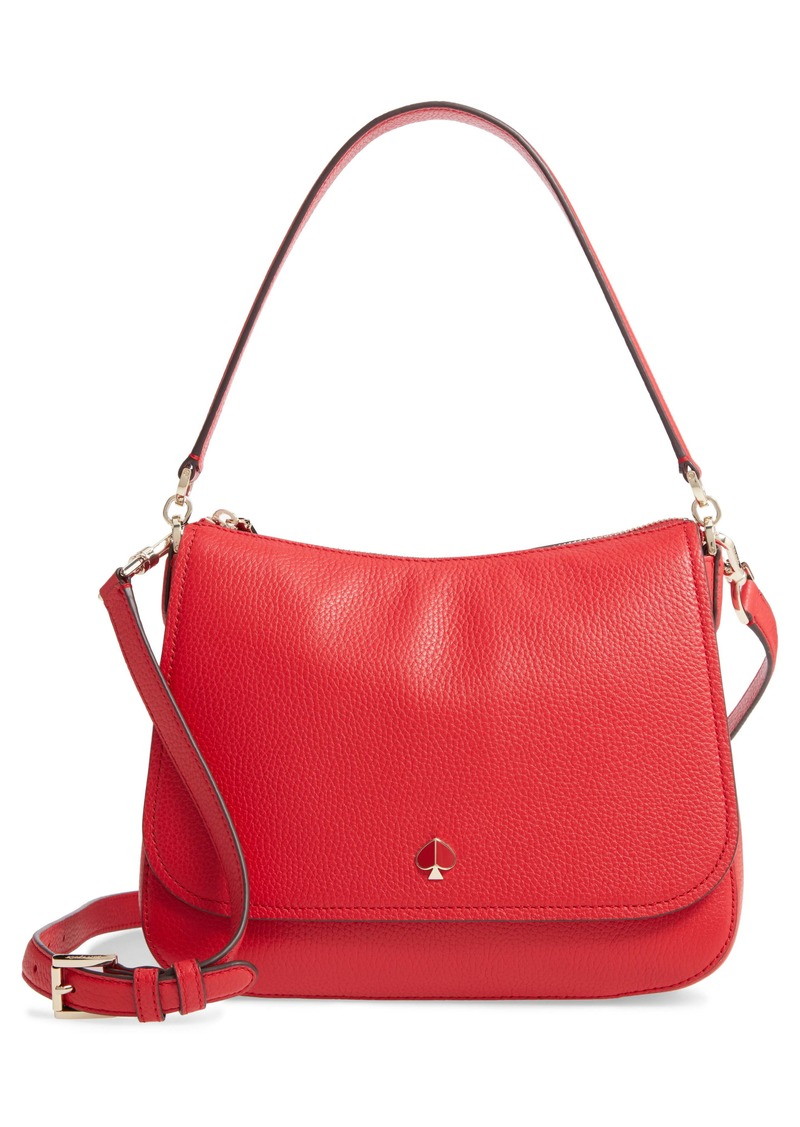 kate spade new york medium polly leather bag