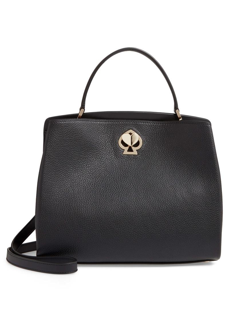 kate spade new york medium romy leather satchel