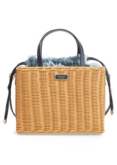 kate spade new york medium sam rattan satchel