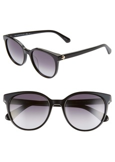kate spade new york melanie 52mm round sunglasses