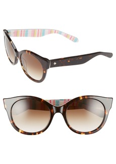 kate spade new york 'melly' 53mm sunglasses