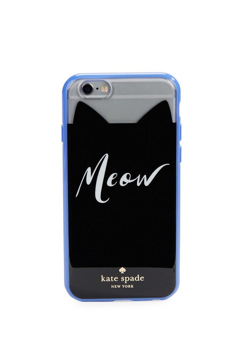 KATE SPADE NEW YORK Meow iPhone Hardshell Case iPhone 6/6s Hardshell Case