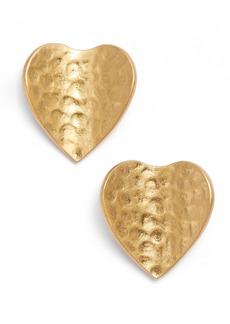 kate spade new york metal petal mini stud earrings