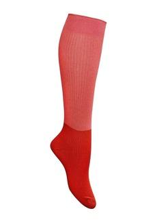 KATE SPADE NEW YORK Metallic Knee High Socks