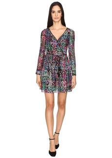 Kate Spade New York Metallic Multi Dot Mini Dress