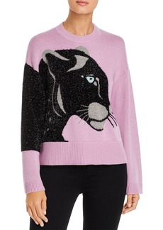 kate spade new york Metallic Panther Sweater