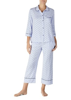 f11b01cbda2 Kate Spade kate spade new york Mini-Dot Top   Cropped Pants Pajama ...