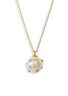 kate spade new york mini bead pendant necklace