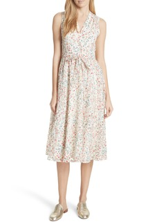 kate spade new york mini bloom burnout midi dress