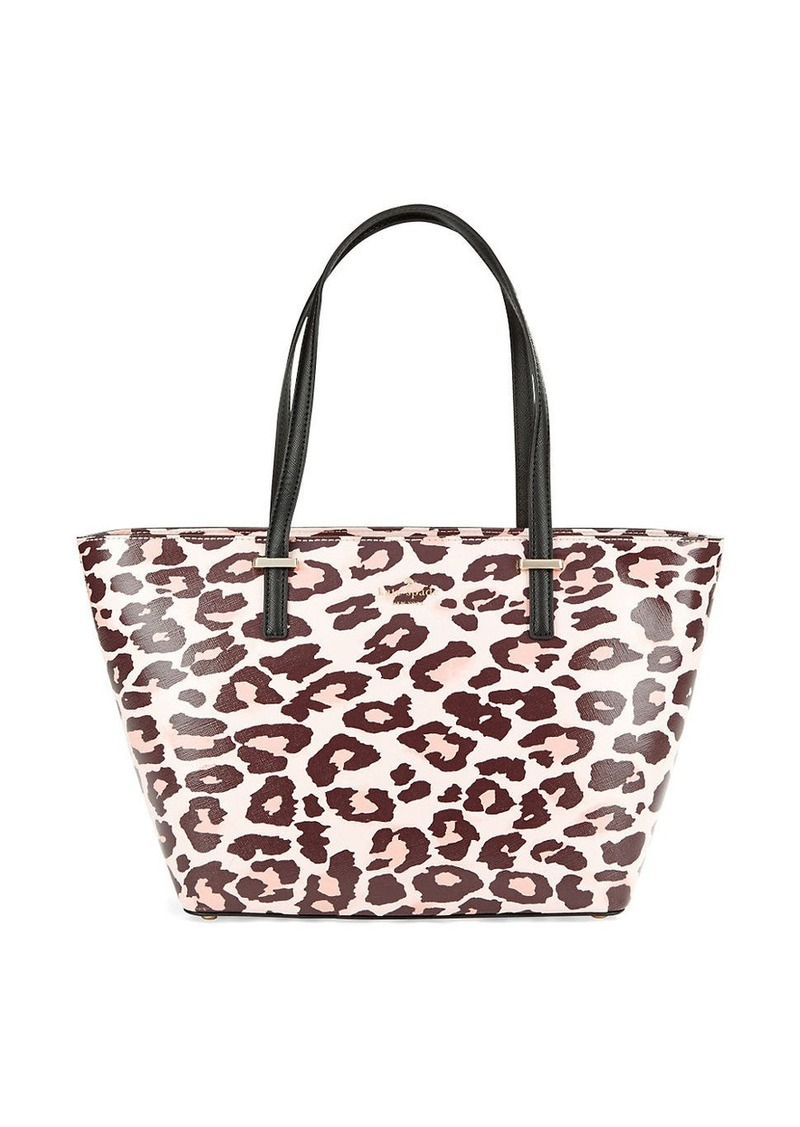 KATE SPADE NEW YORK Mini Harmony Textured Leather Tote