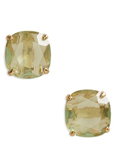 kate spade new york mini small square semiprecious stone stud earrings