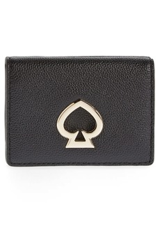 kate spade new york mini suzy trifold leather wallet