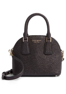 kate spade new york mini sylvia glitter dome satchel