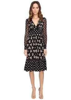 Kate Spade New York Mixed Ditzy Silk Dress