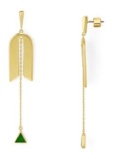 kate spade new york Modern Icon Linear Drop Earrings