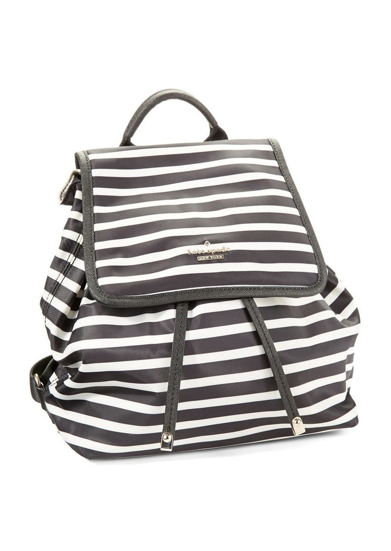 KATE SPADE NEW YORK Molly Striped Backpack