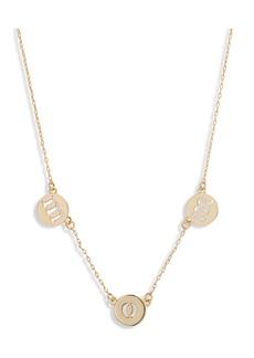 kate spade new york mom pendant necklace