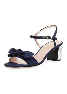 kate spade new york monne too satin bow sandal