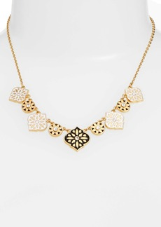 kate spade new york moroccan tile collar necklace