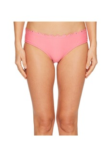 Kate Spade Morro Bay #69 Scalloped Hipster Bikini Bottom