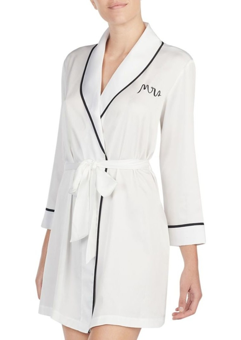Kate Spade Mrs Short Robe