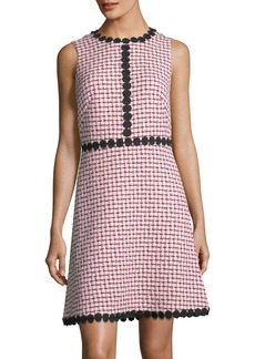 Kate Spade multi-tweed sleeveless mini dress