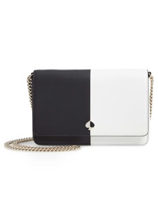kate spade new york nicola colorblock leather wallet on a chain