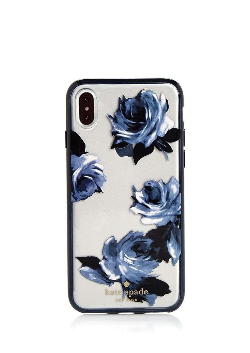 new styles 3b7a3 7afb3 new york Night Rose iPhone X Case