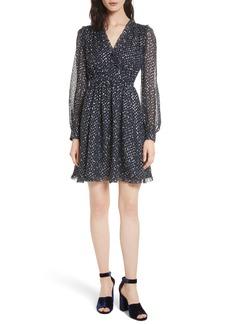 kate spade new york night sky dot dress