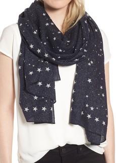 kate spade new york night sky wool blend scarf