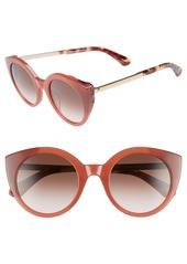 kate spade new york norinas 50mm cat eye sunglasses