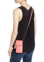 a7ee85b38698 ... kate spade new york north/south leather smartphone crossbody bag ...