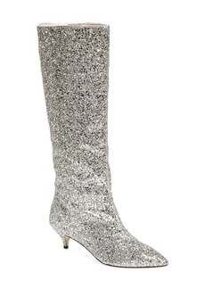 kate spade new york olina glitter knee high boot (Women)
