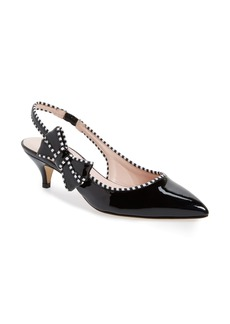 kate spade new york ollie kitten heel slingback pump (Women)