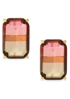 Kate Spade New York Ombre Crystal Stud Earrings