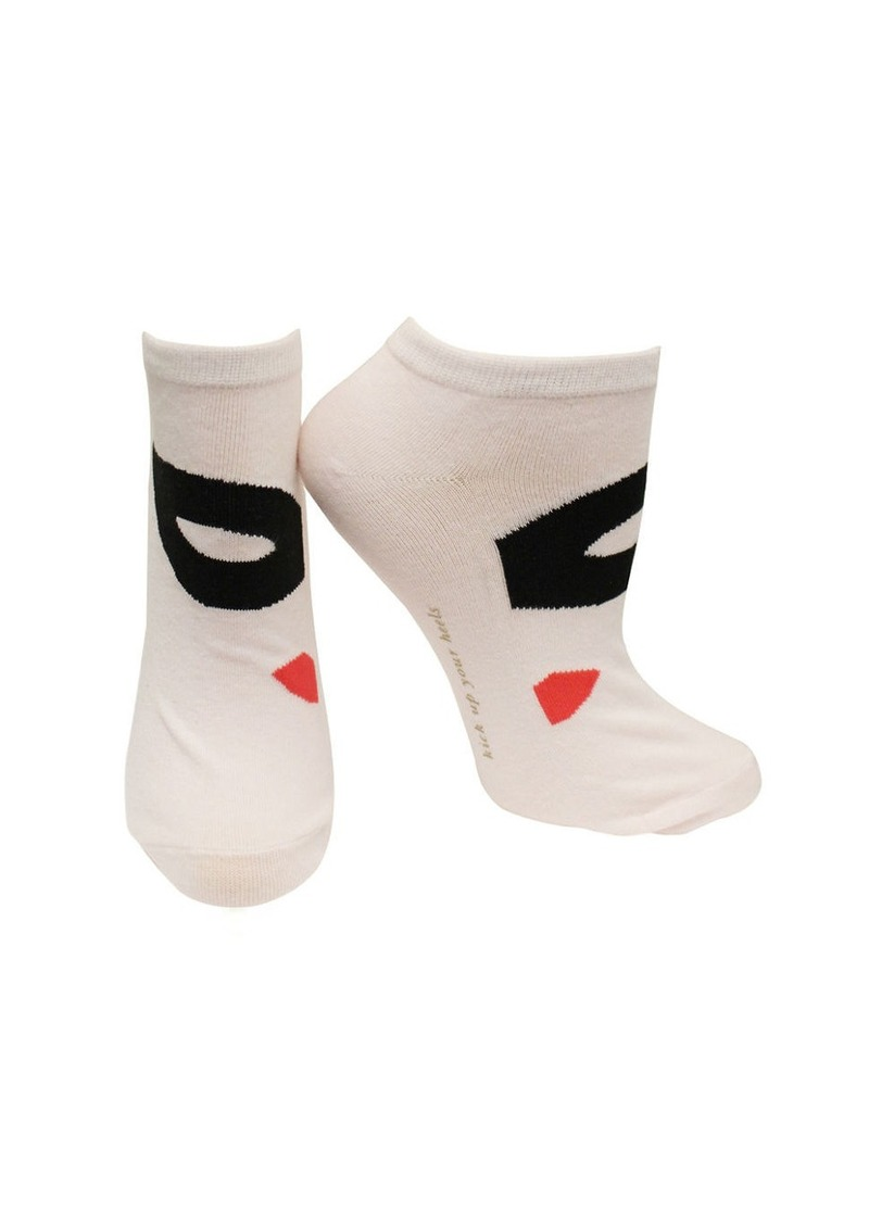 KATE SPADE NEW YORK One-Pack Mask No Show Socks