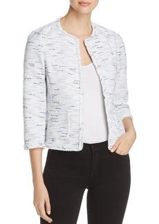 kate spade new york Open-Front Tweed Jacket