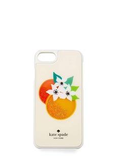 kate spade new york orange shaky gems iPhone 7 case