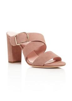 kate spade new york Orchid High Heel Slide Sandals