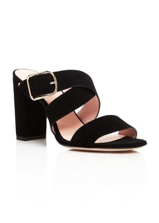 kate spade new york Orchid High Heel Slide Sandals