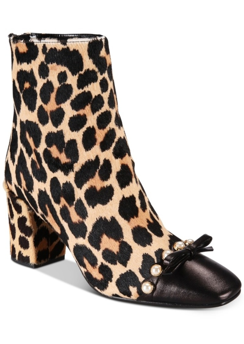 bf4bd6606ea new york Orton Cheetah-Print Booties