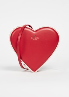 Kate Spade New York Ours Truly Chocolate Heart Bag