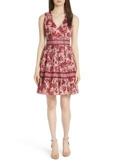 kate spade new york paisley blossom dress