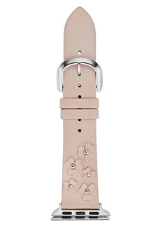 Kate Spade New York Pale Vellum Apple Watch Leather-Strap/38MM