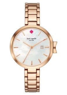 kate spade new york park row bracelet watch, 34mm