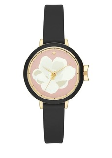 Kate Spade New York Park Row Flower Strap Watch