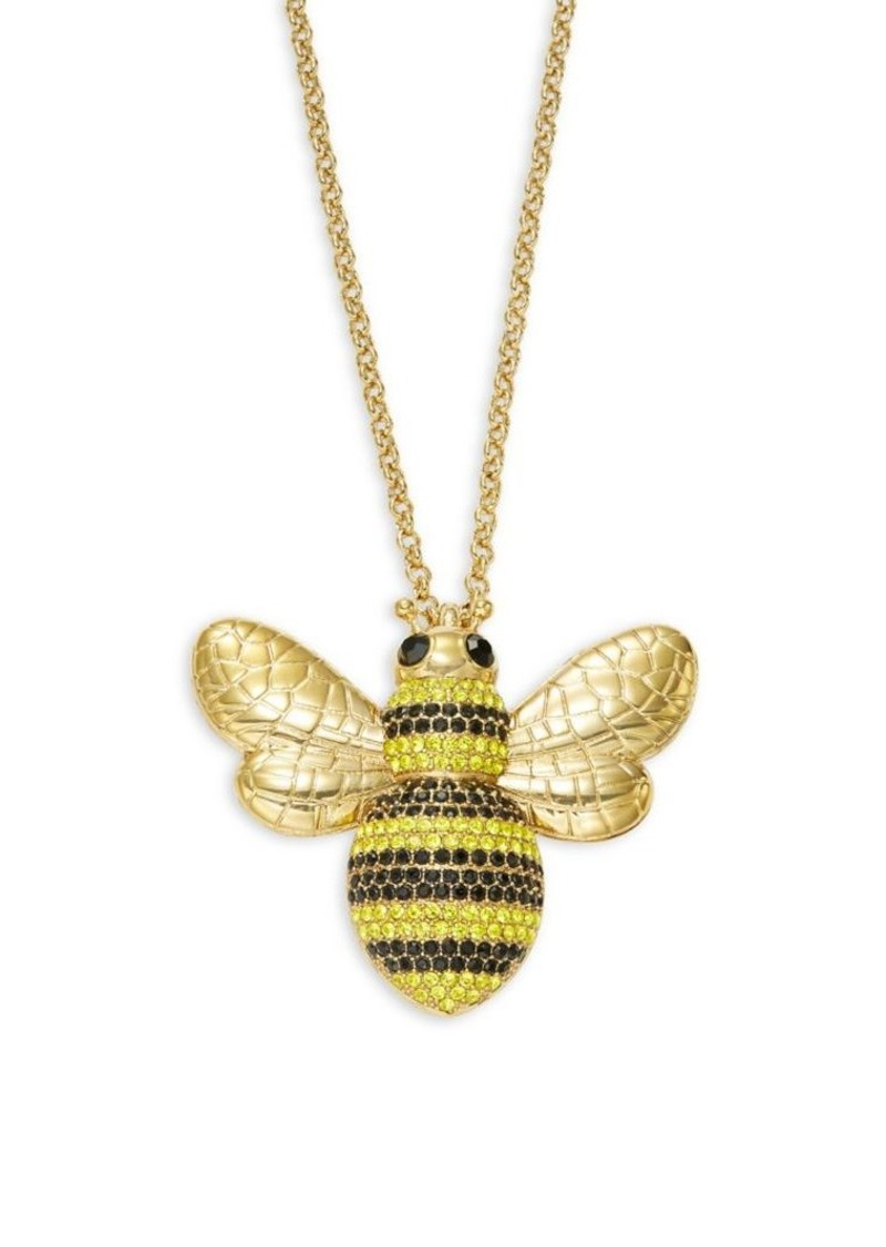 Kate spade kate spade new york pav crystal bee pendant necklace kate spade new york pav crystal bee pendant necklace aloadofball