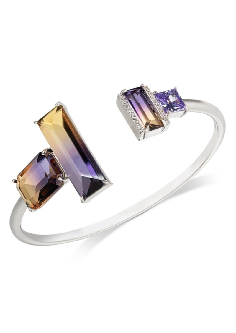 Kate Spade New York Pave & Ombre Crystal Cuff Bracelet