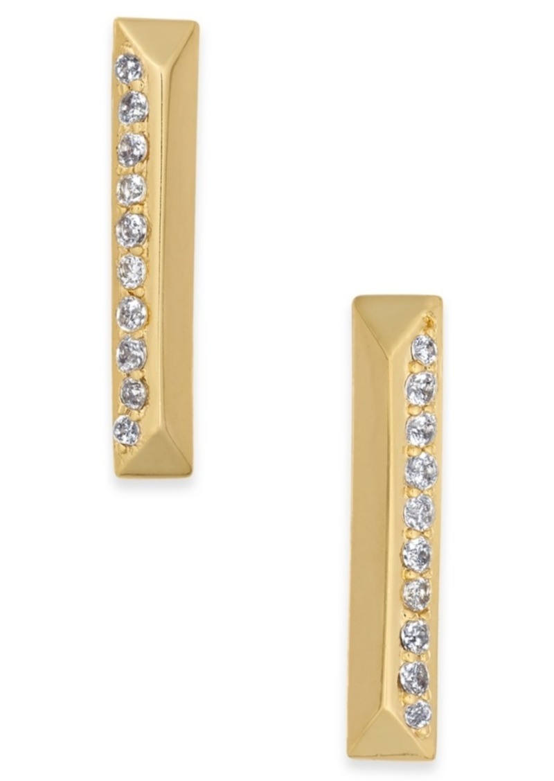 Kate Spade New York Pave Bar Stud Earrings