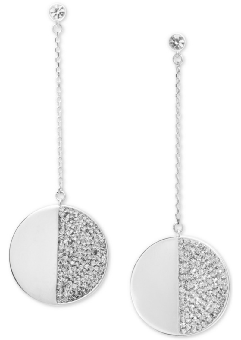 Kate Spade New York Pave Stone Linear Earrings
